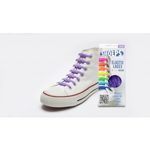 Shoeps elastische veters purple rain