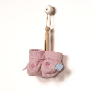 Snoozebaby slofjes pink melange