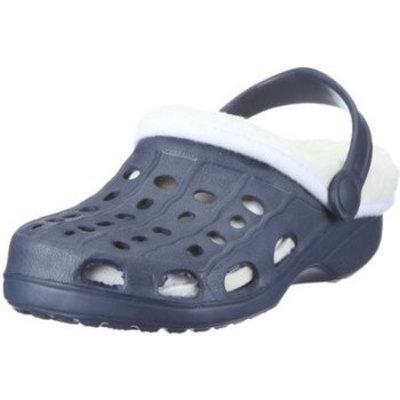 Playshoes EVA sandaaltjes met voering marine