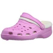Playshoes EVA sandaaltjes croccs uitvoering met voering roze