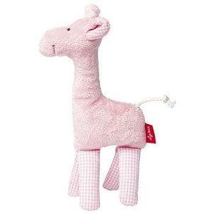 Sigikid rammelaar giraf roze first hugs