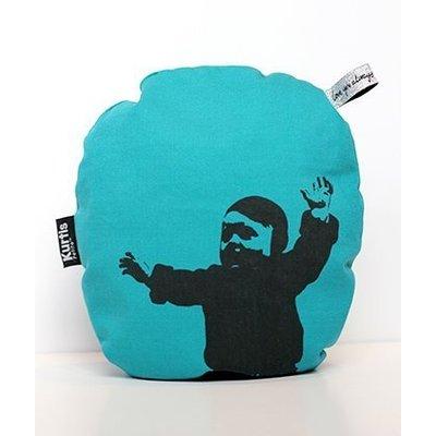 Kurtis mini voedingskussen turquoise
