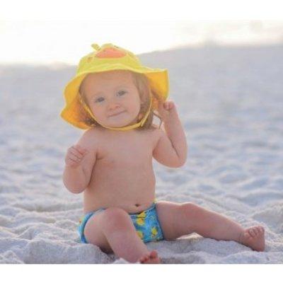Zoocchini zwemluier en zonnehoedje Eend