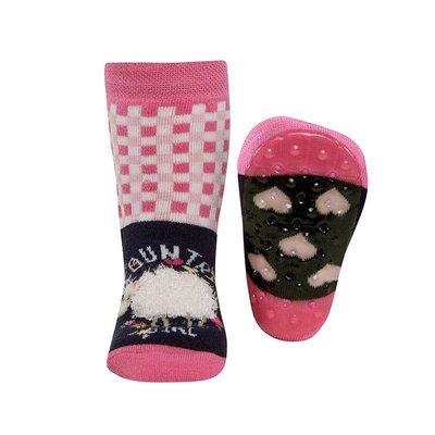 Ewers anti-slip sokken Stoppi schaapje roze Op=Op