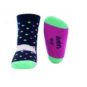 Ewers anti-slip sokken krabbelfix kat marine