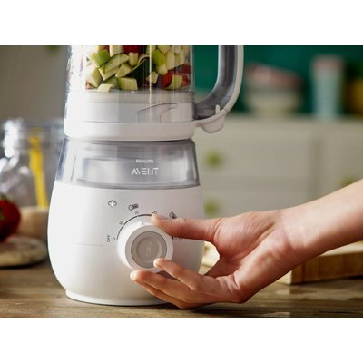 Tweedehands: Philips avent SCF875/02 - Stomer/ blender