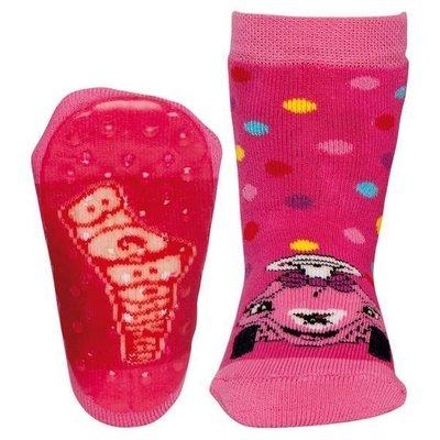 Ewers anti-slip sokken Stoppi Bobbycar fuchsia