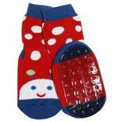 Ewers anti-slip sokken Stoppi lieveheersbeestje rood Op=Op