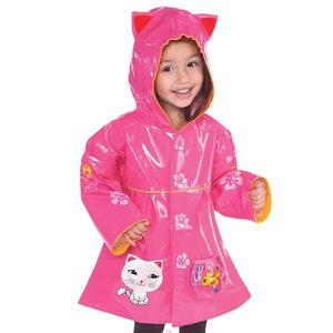 Kidorable Lucky Cat regenjas  - maat 80/86