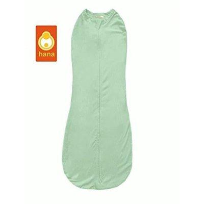 Hana inbakerslaapzak groen 0-3 mnd(2.5 tot6 kilo)