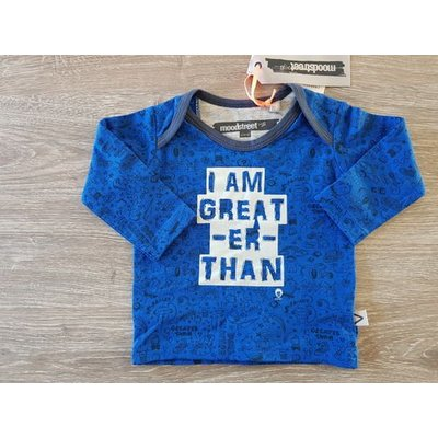 Moodstreet longsleeve 62: I am greater than..
