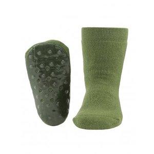 Ewers anti-slip sokken Stoppi uni olijfgroen