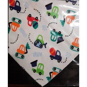JT-Amigo 4-delige set baby bandana slabbetjes