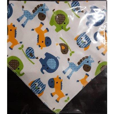 JT-Amigo 4-delige set baby bandana slabbetjes - Copy