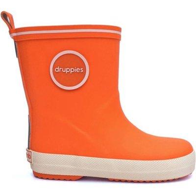 Druppies regenlaarzen oranje