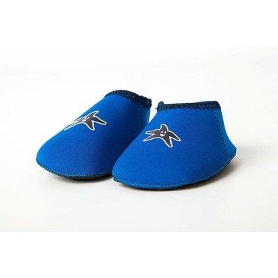 Yoccoes zwem/strandschoentjes blauw (6-12 Mnd)