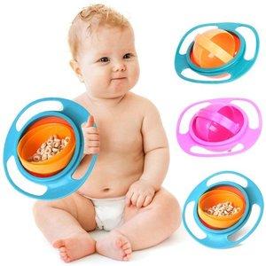 Eetbakje voor kinderen zonder te knoeien 360 graden draaien