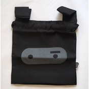 Konijn tasje klein 34x12 cm