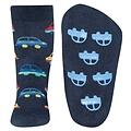 Ewers anti-slip sokken Stoppi softstep auto`s donker blauw