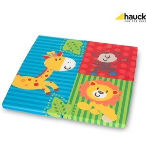 B grade: Hauck Sleeper SQ - Babymatras - 90 x 90 cm - Jungle Fun