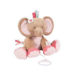 Nattou muziekknuffel  olifant 20 cm