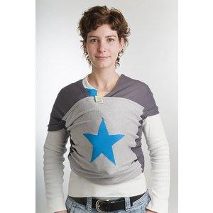 Medela draagdoek blauw ster