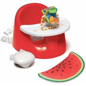 PRINCE lionheart Bébé Pod Flex Plus rood (watermeloen) stoelverhoger/ stoel