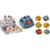 Babytoys voertuigje( boot, auto, vliegtuig) 12 mnd+