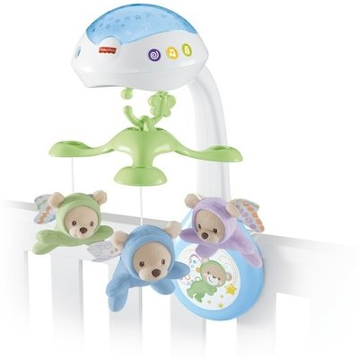 Fisher-Price Vlinderdromen 3-in-1 Mobiel - Babyprojector