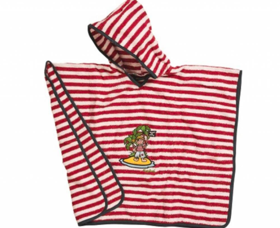 stoere badponcho van Playshoes
