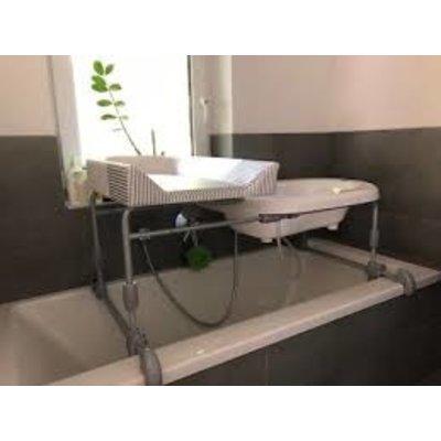 B Grade: Breivi badset met aankleedkussen 2 in 1