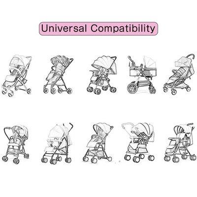 Universele regehoes, muggennet voor buggy/ kinderwagen
