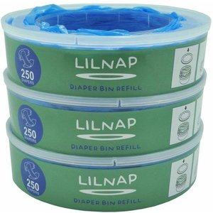 LILNAP - navulcassettes voor Angelcare luieremmer (smalle rol)
