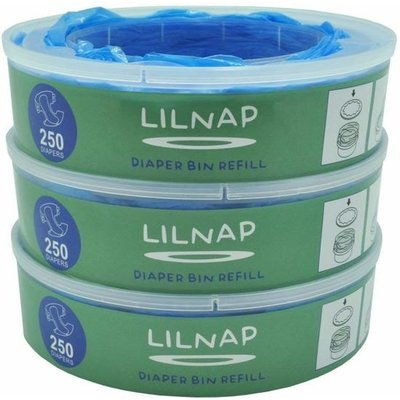 LILNAP - navulcassettes voor Angelcare luieremmer (smalle rol)