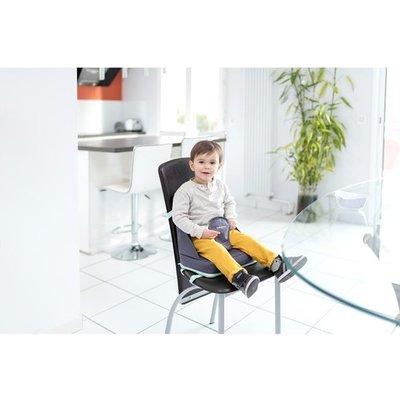 Babymoov Up & Go Grey - draagbare verhoogstoeltje