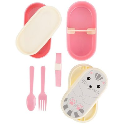 Sass & Belle lunchbox roze poes