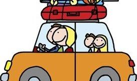 Ik ga met de auto op vakantie en neem mee………