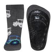 Ewers anti-slip sokken Stoppi softstep trekker grijs