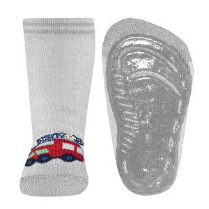 Ewers anti-slip sokken Stoppi softstep brandweer grijs