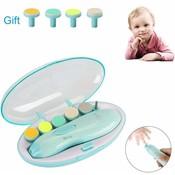 Manicure set met led voor baby en volwassenen