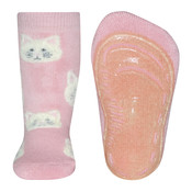 Ewers anti-slip sokken Stoppi softstep poesjes roze