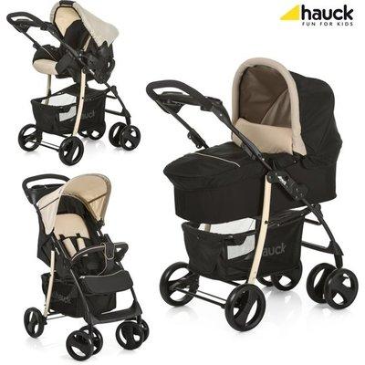 B Grade: Hauck kinderwagenset( buggy, kinderwagenbak, autostoeltje)