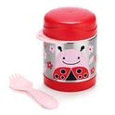 Skip Hop Zoo Insulated Food Jar - Ladybug