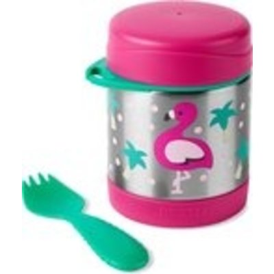 Skip Hop Zoo Insulated Food Jar - Flamingo