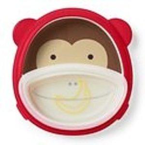 Skip Hop Skip hop Zoo Smart Serve plate & bowl Set - Monkey