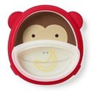 Skip Hop Zoo Smart Serve plate & bowl Set - Monkey
