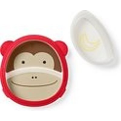Skip Hop Zoo Smart Serve plate & bowl Set - Monkey