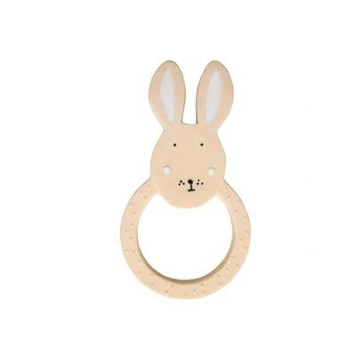 Trixie Trixie Natuurlijk Rubber Ronde Bijtring Mrs. Rabbit