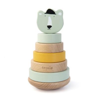 Trixie Trixie Houten Stapeltoren Mr. Polar Bear