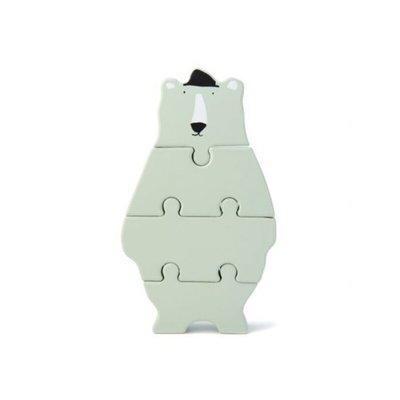 Trixie Trixie Houten Dierenvormpuzzel Mr. Polar Bear